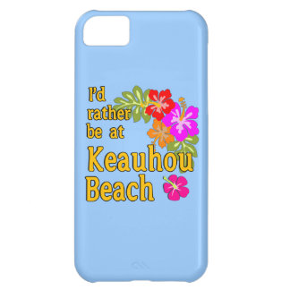 I'd Rather Be at Keauhou Beach, Hawaii Cover For iPhone 5C