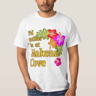 I'd Rather be at Makena Cove Hawaii T-Shirt