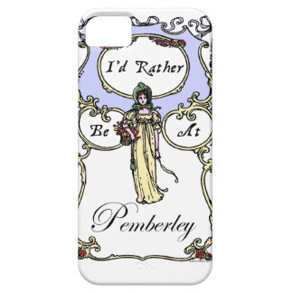 I'd Rather Be At Pemberley iPhone 5 Cases