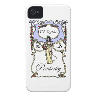 I'd Rather Be At Pemberley Case-Mate iPhone 4 Cases