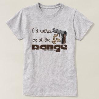 I'd rather be at the range - 2nd amendment shirt