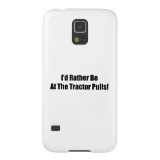 Id Rather Be At The Tractor Pulls Tractor Gifts Galaxy S5 Cover