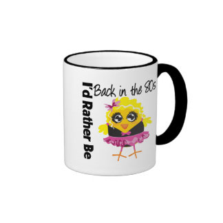 I'd Rather Be Back in the 80s Ringer Coffee Mug