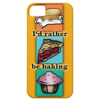 I'd Rather be Baking Pop Art Phone Case