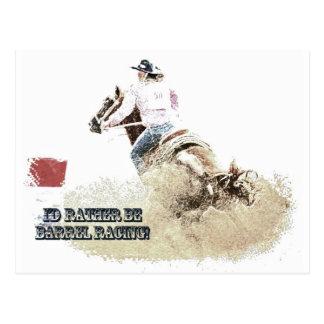 I'd Rather Be Barrel Racing! Post Cards