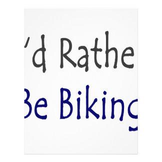 I'd Rather Be Biking Flyers