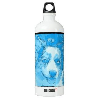 I'd Rather Be Blue Aluminum Water Bottle