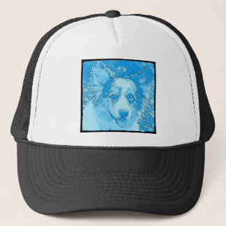 I'd Rather Be Blue Trucker Hat