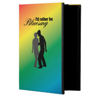 I'd Rather Be Bluesing Rainbow Edition Cover For iPad Air