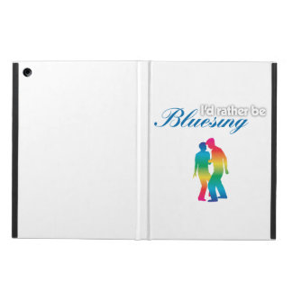 I'd Rather Be Bluesing Rainbow Edition iPad Air Cases