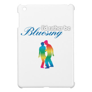 I'd Rather Be Bluesing Rainbow Edition Cover For The iPad Mini