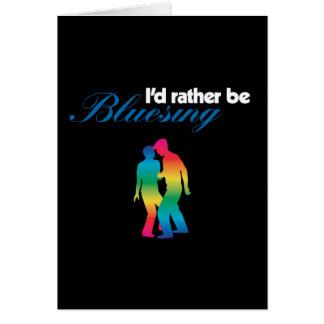 I'd Rather Be Bluesing Rainbow for Dark Card