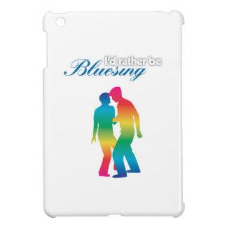I'd Rather Be Bluesing Rainbow iPad Mini Cases