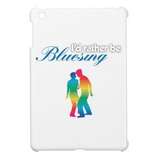 I'd Rather be Bluesing Rainbows iPad Mini Case