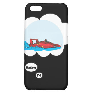 I'd rather be Boat Racing iPhone 5C Cases