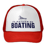 I'd rather be boating hat for skippers