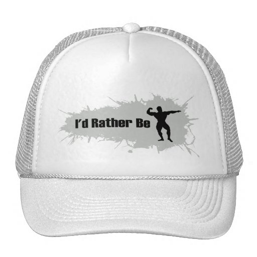 I'd Rather Be Bodybuilding Trucker Hat