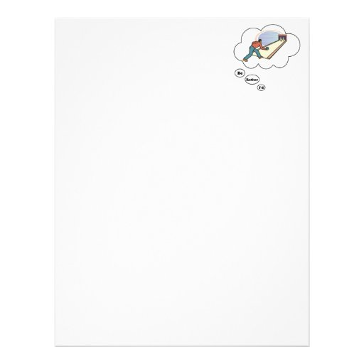 I'd rather be Bowling 5 Letterhead