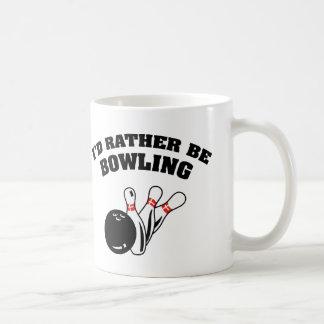 I'd Rather Be Bowling Coffee Mug