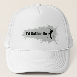 I'd Rather Be Bowling Trucker Hat
