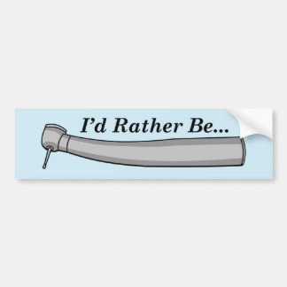 """I'd Rather Be..."" Bumper Sticker"