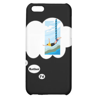 I'd rather be Bungee Jumping 2 iPhone 5C Case