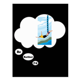 I'd rather be Bungee Jumping 2 Postcard