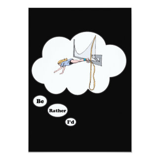 I'd rather be Bungy Jumping Card