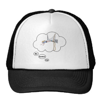 I'd rather be Bungy Jumping Trucker Hat