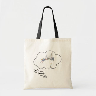 I'd rather be Bungy Jumping Tote Bag