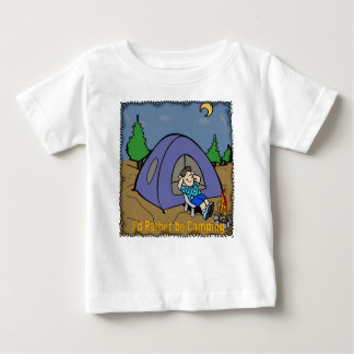 I'd Rather Be Camping - Camp Scene Infant T-Shirt