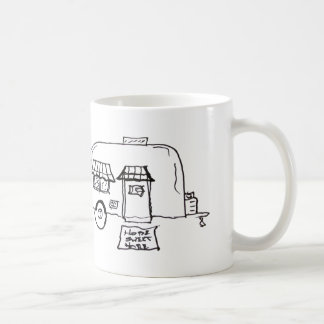 I'd Rather Be Camping Classic White Coffee Mug