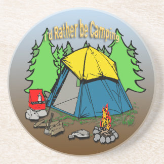 I'd Rather Be Camping Coaster