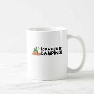 I'd Rather Be Camping Coffee Mug