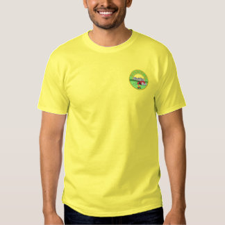 I'd Rather Be Camping Embroidered T-Shirt