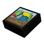 I'd Rather Be Camping Gift Box/Trinket Box