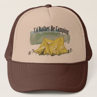 I'd Rather Be Camping Hat