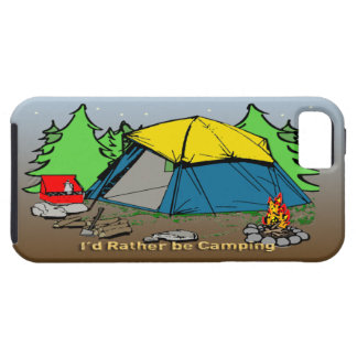 I'd Rather Be Camping iPhone 5G Case-Mate Tough™ C iPhone 5 Cases