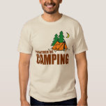 I'D RATHER BE CAMPING T SHIRTS