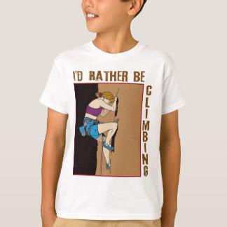 I'd Rather Be Climbing Women's T-Shirt