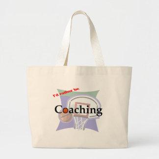 I'd Rather be Coaching Bag