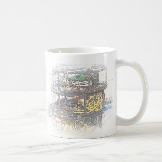 I'd rather be crabbing coffee mug