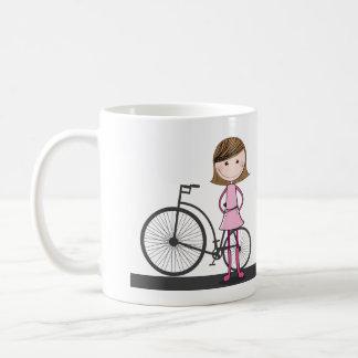 I'd rather be cycling! coffee mug