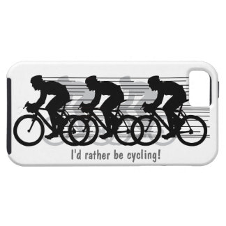 I'd rather be cycling iPhone 5 Casemate iPhone 5 Cases