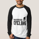 I'd Rather be Cycling (male) Tee Shirts