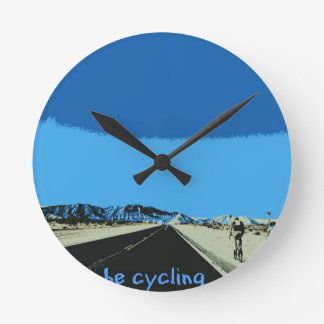 id rather be cycling round clock