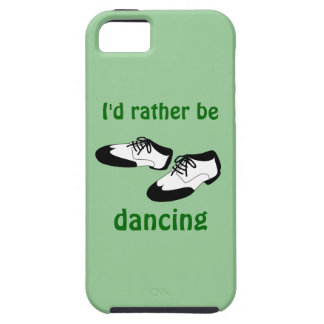 Id Rather be Dancing Swing Dance Shoes iphone 5 iPhone SE/5/5s Case