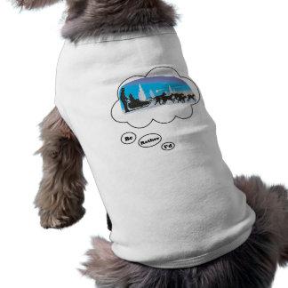 I'd rather be Dog Sled Racing 2 Dog T Shirt