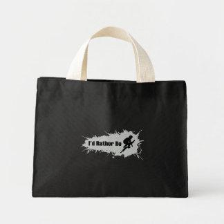 I'd Rather Be Doing BMX Mini Tote Bag