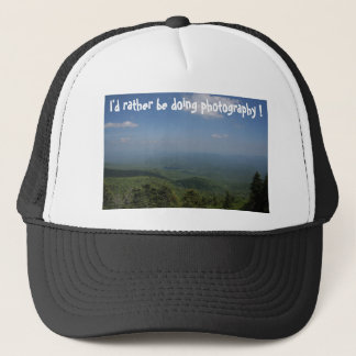 I'd rather be doing photography ! trucker hat